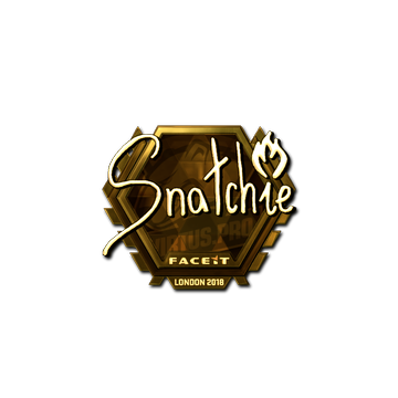 Sticker | snatchie (Gold) | London 2018