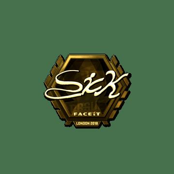 Sticker | SicK (Gold) | London 2018