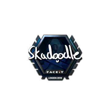 Sticker | Skadoodle (Foil) | London 2018