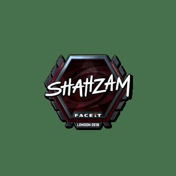 Sticker   ShahZaM (Foil)   London 2018