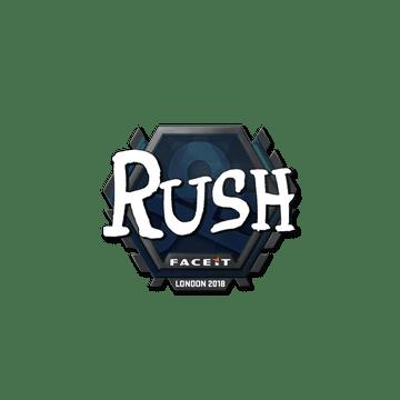 Sticker | RUSH | London 2018