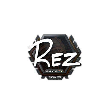 Sticker | REZ | London 2018
