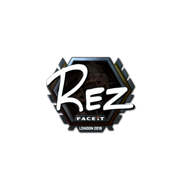 Sticker | REZ (Foil) | London 2018