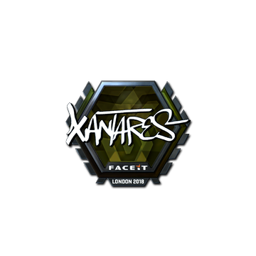 Sticker | XANTARES (Foil) | London 2018