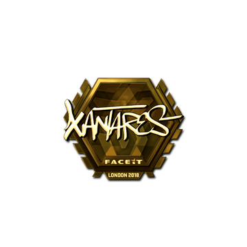 Sticker | XANTARES (Gold) | London 2018