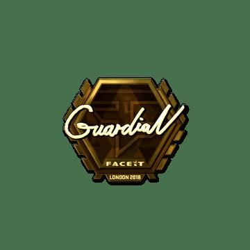 Sticker | GuardiaN (Gold) | London 2018