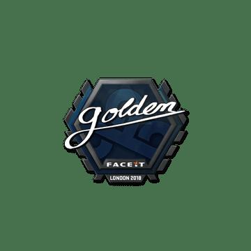 Sticker | Golden | London 2018