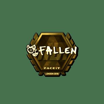 Sticker | FalleN (Gold) | London 2018