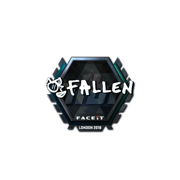 Sticker | FalleN (Foil) | London 2018