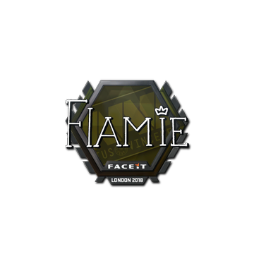 Sticker | flamie | London 2018