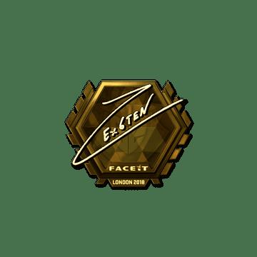 Sticker | Ex6TenZ (Gold) | London 2018