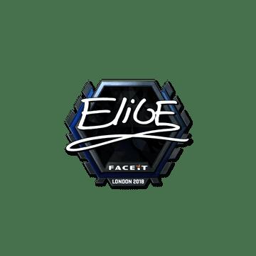 Sticker | EliGE (Foil) | London 2018