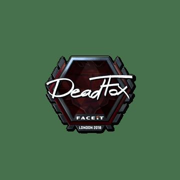 Sticker | DeadFox (Foil) | London 2018