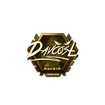 Sticker | DavCost (Gold) | London 2018