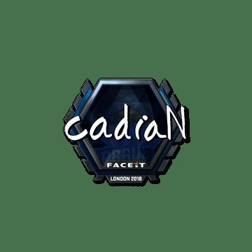 Sticker | cadiaN (Foil) | London 2018