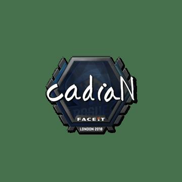 Sticker   cadiaN   London 2018
