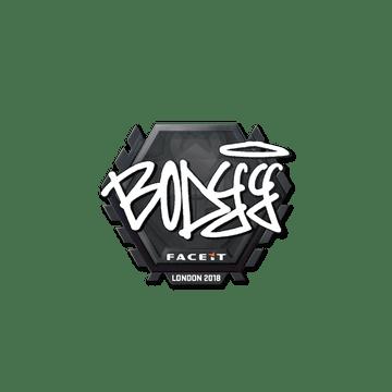 Sticker | bodyy | London 2018