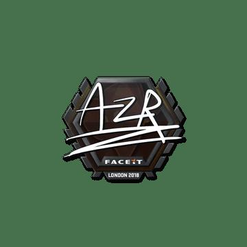 Sticker   AZR   London 2018