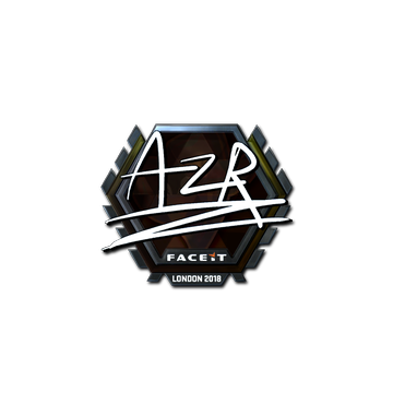 Sticker | AZR (Foil) | London 2018