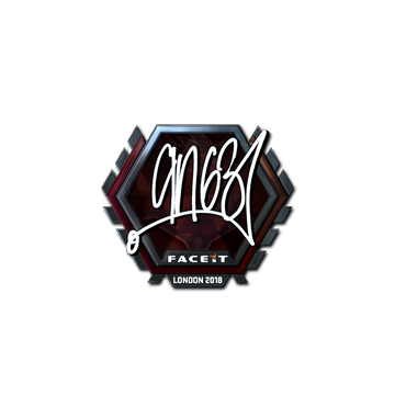 Sticker | ANGE1 (Foil) | London 2018
