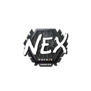 Sticker | nex | London 2018