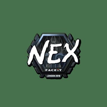 Sticker | nex (Foil) | London 2018