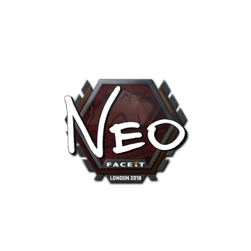 Sticker   NEO   London 2018