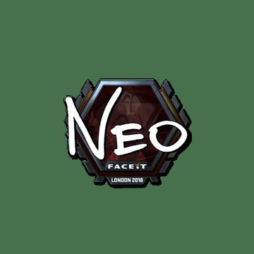 Sticker | NEO (Foil) | London 2018