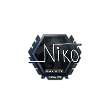 Sticker | niko  | London 2018
