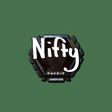 Sticker | Nifty (Foil) | London 2018