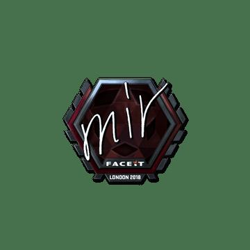 Sticker | mir (Foil) | London 2018
