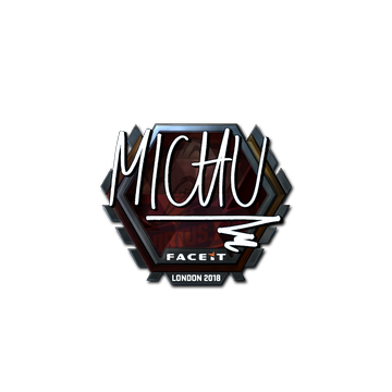 Sticker | MICHU (Foil) | London 2018