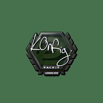 Sticker | k0nfig | London 2018