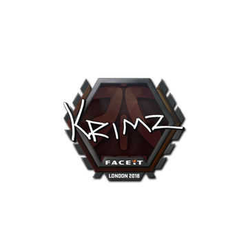 Sticker | KRIMZ | London 2018