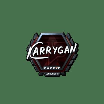 Sticker | karrigan (Foil) | London 2018