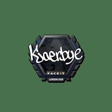 Sticker | Kjaerbye | London 2018