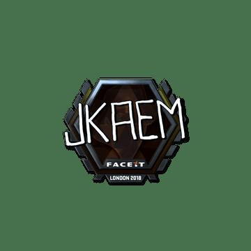 Sticker | jkaem (Foil) | London 2018