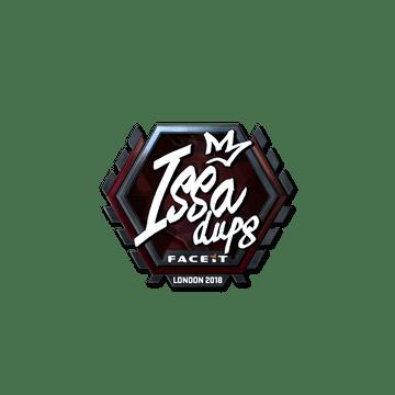 Sticker   ISSAA (Foil)   London 2018