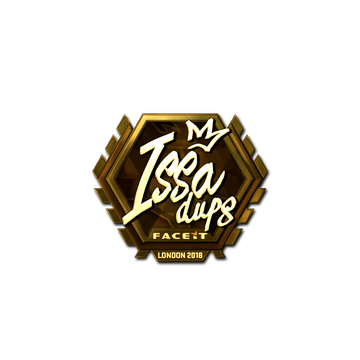 Sticker | ISSAA (Gold) | London 2018