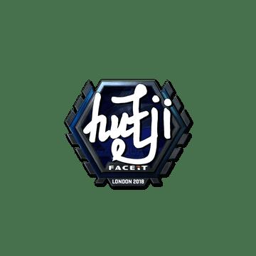 Sticker | hutji (Foil) | London 2018