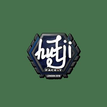 Sticker | hutji | London 2018