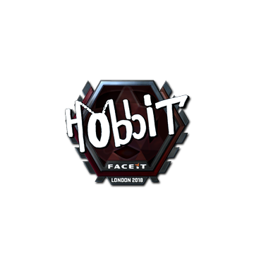 Sticker | Hobbit (Foil) | London 2018