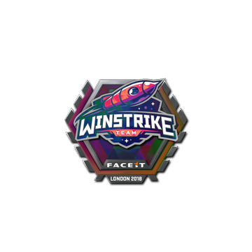 Sticker | Winstrike Team (Holo) | London 2018