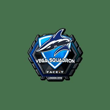 Sticker | Vega Squadron (Foil) | London 2018