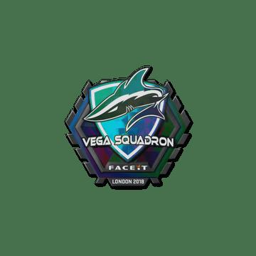 Sticker   Vega Squadron (Holo)   London 2018