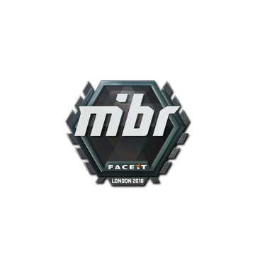 Sticker   MIBR   London 2018