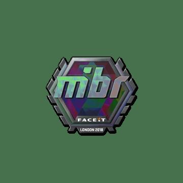 Sticker   MIBR (Holo)   London 2018
