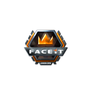 Sticker   FACEIT (Foil)   London 2018