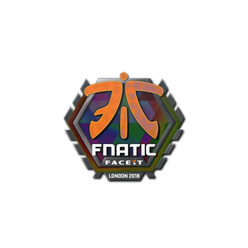 Sticker | Fnatic (Holo) | London 2018