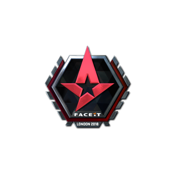 Sticker | Astralis (Foil) | London 2018